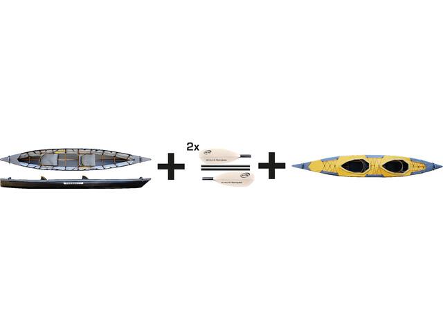 Pakboats Puffin Saranac Boot Jubelpakket geel/zwart